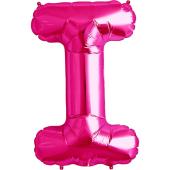 Rozā folija balons I 86  cm