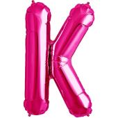 Rozā folija balons K 86  cm