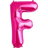 Rozā folija balons F 86  cm
