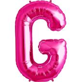 Rozā folija balons G 86  cm