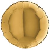 GOLD ROUND gaisa balons 45 СM