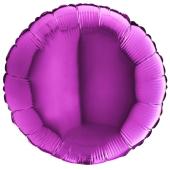 MULBERRY PURPLE ROUND gaisa balons 45 СM