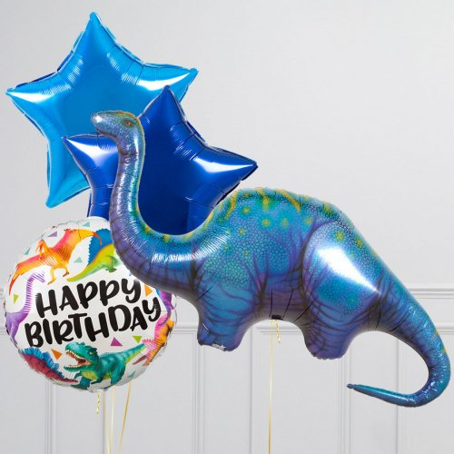 """Hēlija balonu pušķis """"Dinozaurs"""""""