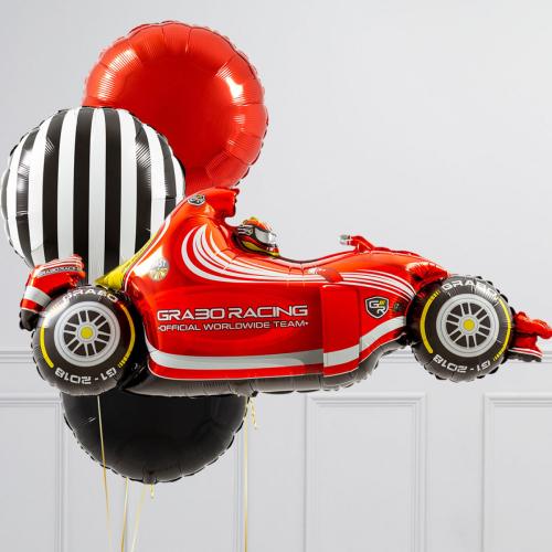 """Hēlija balonu pušķis """"Formula"""""""