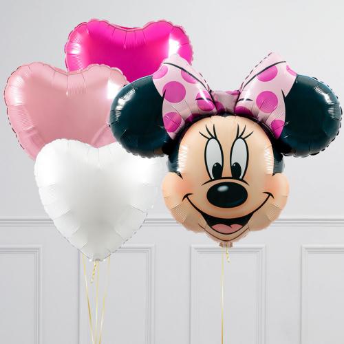 """Hēlija balonu pušķis """"Minnija"""""""