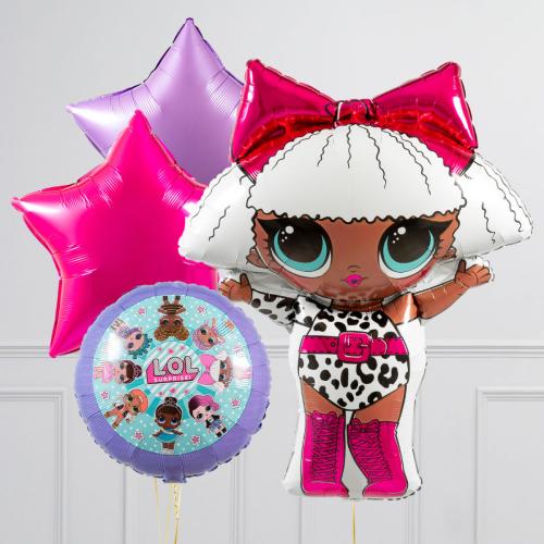 "Hēlija balonu pušķis ""L.O.L."""