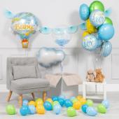 """Baby boy"" balonu komplekts"