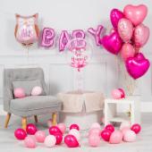 """Baby girl"" balonu komplekts"