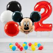 """Hēlija balonu pušķis """"Dzimšanas dienas Mikijs"""""""