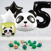 """Hēlija balonu pušķis """"Dzimšanas dienas Panda"""""""