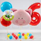 """Hēlija balonu pušķis """"Dzimšanas dienas Ruksis"""""""