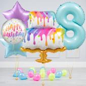 """Hēlija balonu pušķis """"Dzimšanas dienas Torte"""""""