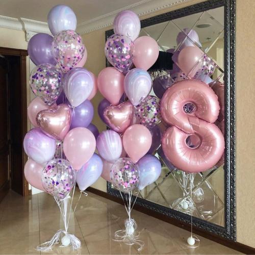 35 balonu kompozīcija