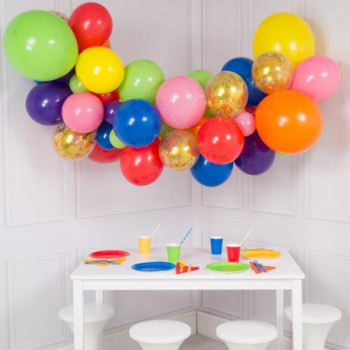 Balonu mākoņkomplekts Varavīksne