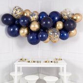 Balonu mākoņkomplekts Tumši zils