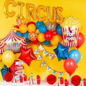 Balonu mākoņkomplekts Cirks