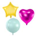 Vienkrāsaini baloni