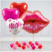 """""""Kiss"""" balonu komplekts"""