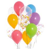 Iepakojums ar 14 Lieldienu konfeti baloniem