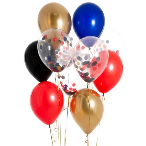 Iepakojums ar 14 pirātu konfeti baloniem
