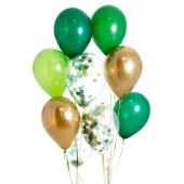 Iepakojums ar 14 savvaļas konfeti baloniem
