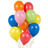 Iepakojums ar 14 ballīšu baloniem Rainbow Bright Party