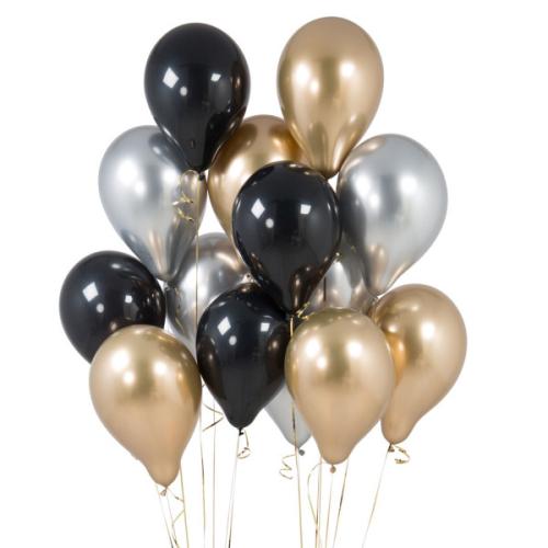 Iepakojums ar 14 ballīšu baloniem Glitz and Glam Party