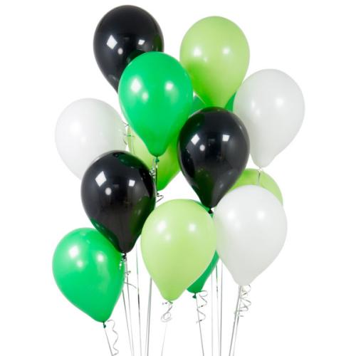 Iepakojums ar 14 ballīšu baloniem Football Party
