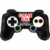 Birthday Games Controller folija gaisa balons 91 CM