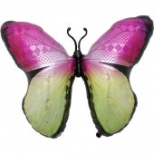 Multi Coloured Monarch Butterfly Jumbo FOLIJA GAISA BALONS 79 СМ
