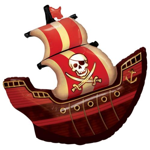 Pirate Ship folija hēlija balons 102 СМ