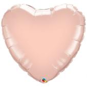 "45 cm Folija balons HRT ""Rose Gold"""