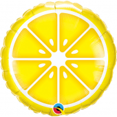 45 cm Folija balons Lemon, yellow