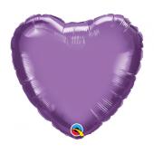 45 cm Folija balons HRT Chrome purple Plain foil