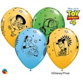 Apdrukāts lateksa balons Toy story 4 (30 cm)