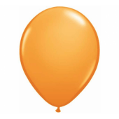 Apdrukāts lateksa balons pastel orange (30 cm)