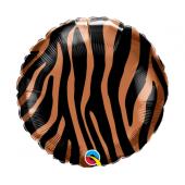 45 cm Folija balons Tiger stripes pattern