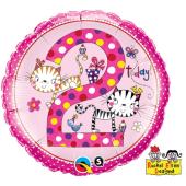 "45 cm Folija balons 2 for girls """