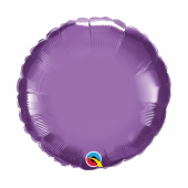 45 cm Folija balons chrome purple