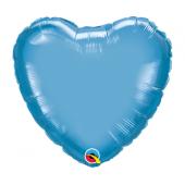 45 cm Folija balons HRT Chrome blue Plain foil