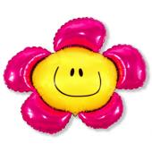 "Folijas balons 24 ""FX -"" Flower ""(rozā)"