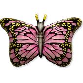 Шар (38''/97 см) Фигура, Бабочка-монарх, Фуше, 1 шт.