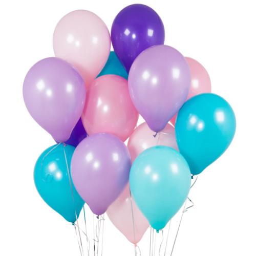 Iepakojums ar 14 nāriņas tematikas lateksa baloniem