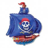 Pirate ship FOLIJA GAISA BALONS 95 CM