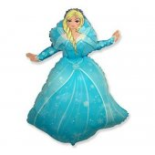 Princess Elsa Ice Heart FOLIJA GAISA BALONS 92 CM