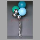 Balonu Kompozīcija 3 Ekskluzīvi Zaļa Zila Tirkīza krāsa 160x50 cm