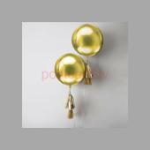 Balonu Kompozīcija 5 Ekskluzīvi Zelta krāsa 150x50 cm
