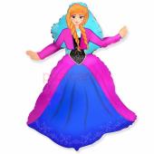 Princess Anna Frozen FOLIJA GAISA BALONS 92 CM