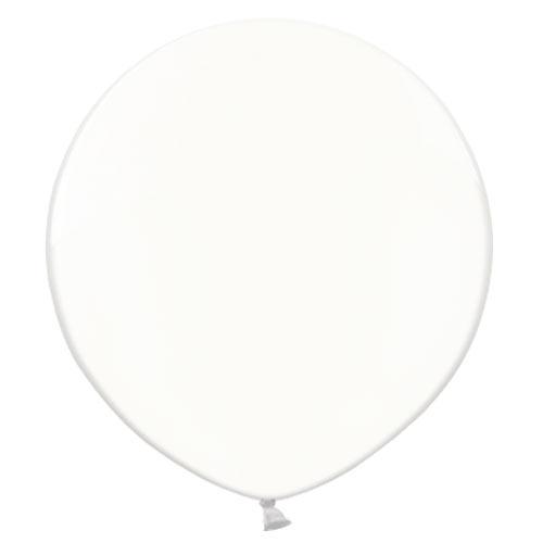 2FT PASTEL WHITE LATEX BALLOON